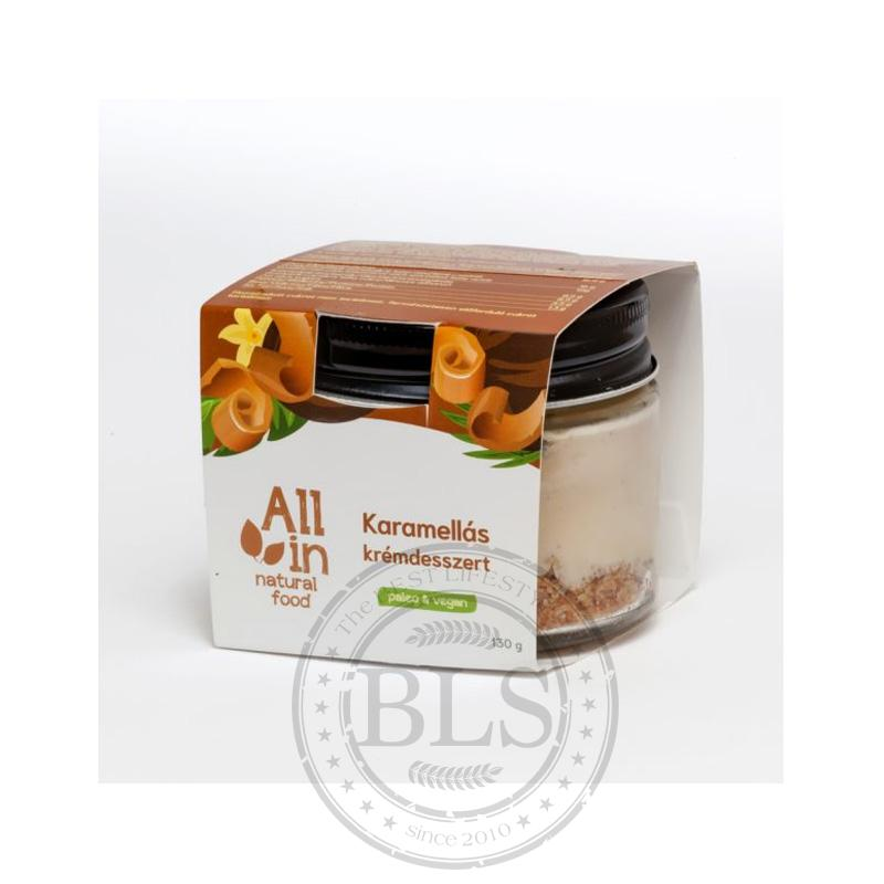 All In – Paleo dezertný krém – Karamel 130g