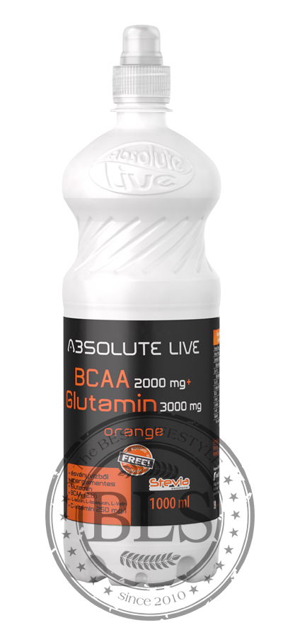 ABSOLUTE LIVE BCAA+GLUTAMIN nápoj pomaranč   1000ml