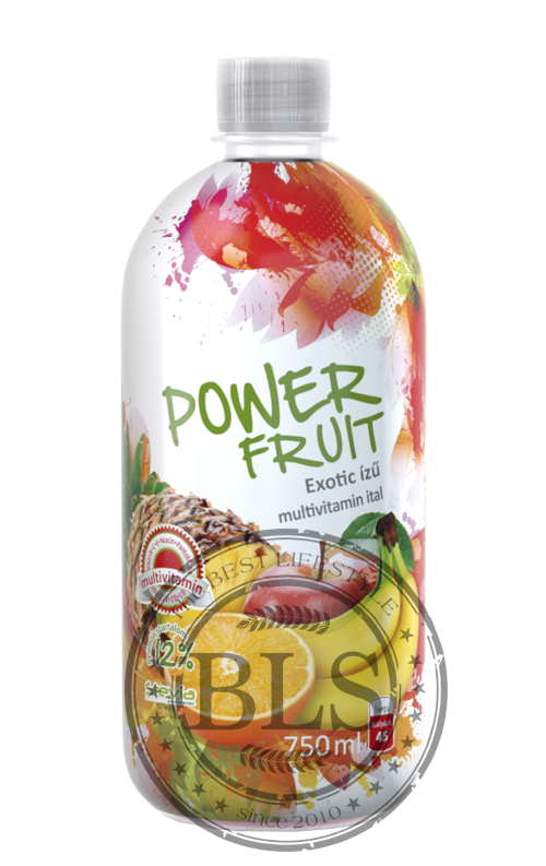 POWER FRUIT nápoj jablko-pomaranč-banán multivitamin    750ml