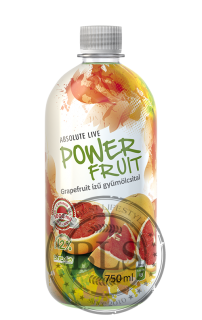 POWER FRUIT nápoj grapefruit  750ml (Dátum exp.: 09.04.2020)